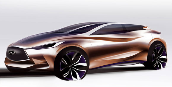 Infiniti Q30 To Be Launched In Frankfurt