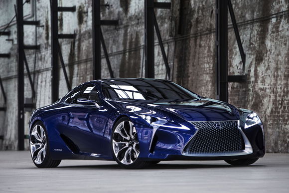Lexus LF-LC at the Australian International Motor Show