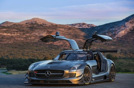 The Mercedes-Benz SLS AMG GT3 45th Anniversary