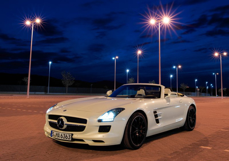 Officiel : Mercedes-Benz SLS AMG Roadster 2012
