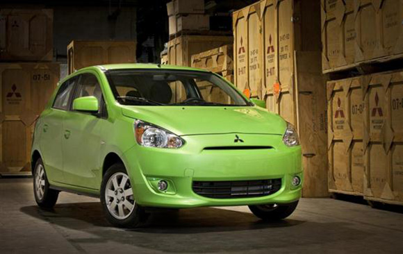 2014 Mitsubishi Mirage: Environmental Winner