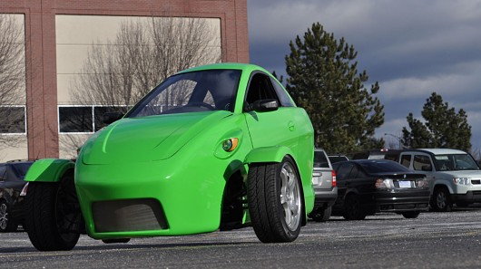 Elio Motors Presents 3 Wheeled Car