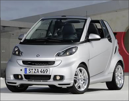 la smart fortwo brabus 2009 montr al. Black Bedroom Furniture Sets. Home Design Ideas