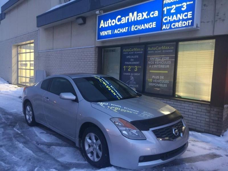 Used 2008 Nissan Altima 2,5 Coupe Cuir Sunroof Blutooth Spécial !!! For Sale  In Kirkland   Auto Car Max H9H 3B7   #3464683