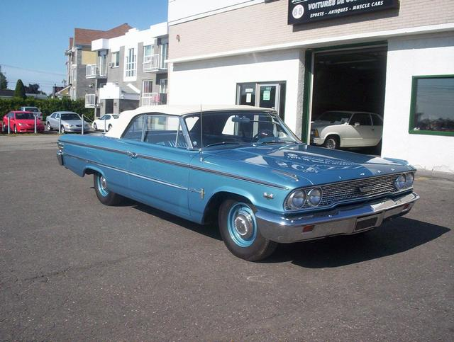 Used  Ford Galaxie  Ci Tri Power Convertible For Sale In Saint Leonard John Scotti Classic Cars Hr Y