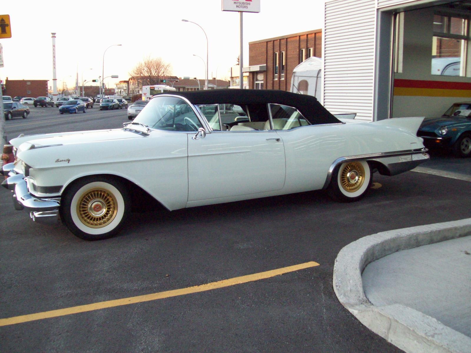 Used 1957 cadillac eldorado biarritz convertible for sale in saint l onard john scotti classic cars h1r 2y7 2070752