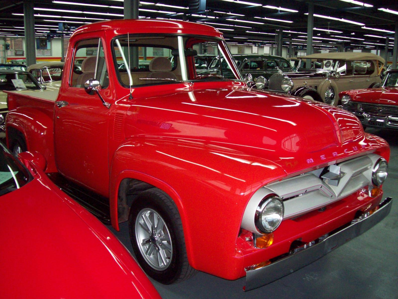Used 1955 Mercury 100 1/2 Ton Pick Up Hot Rod for sale in Saint ...