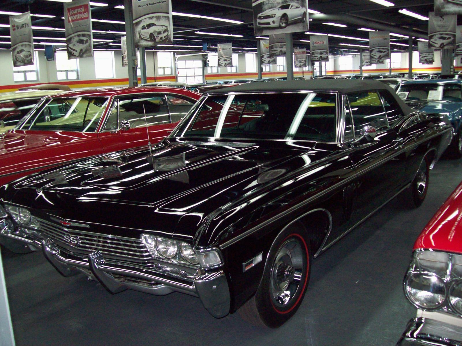 Used 1968 Chevrolet Impala Ss 427 For Sale In Saint Lonard John Custom Coupe Scotti Classic Cars H1r 2y7 2070795