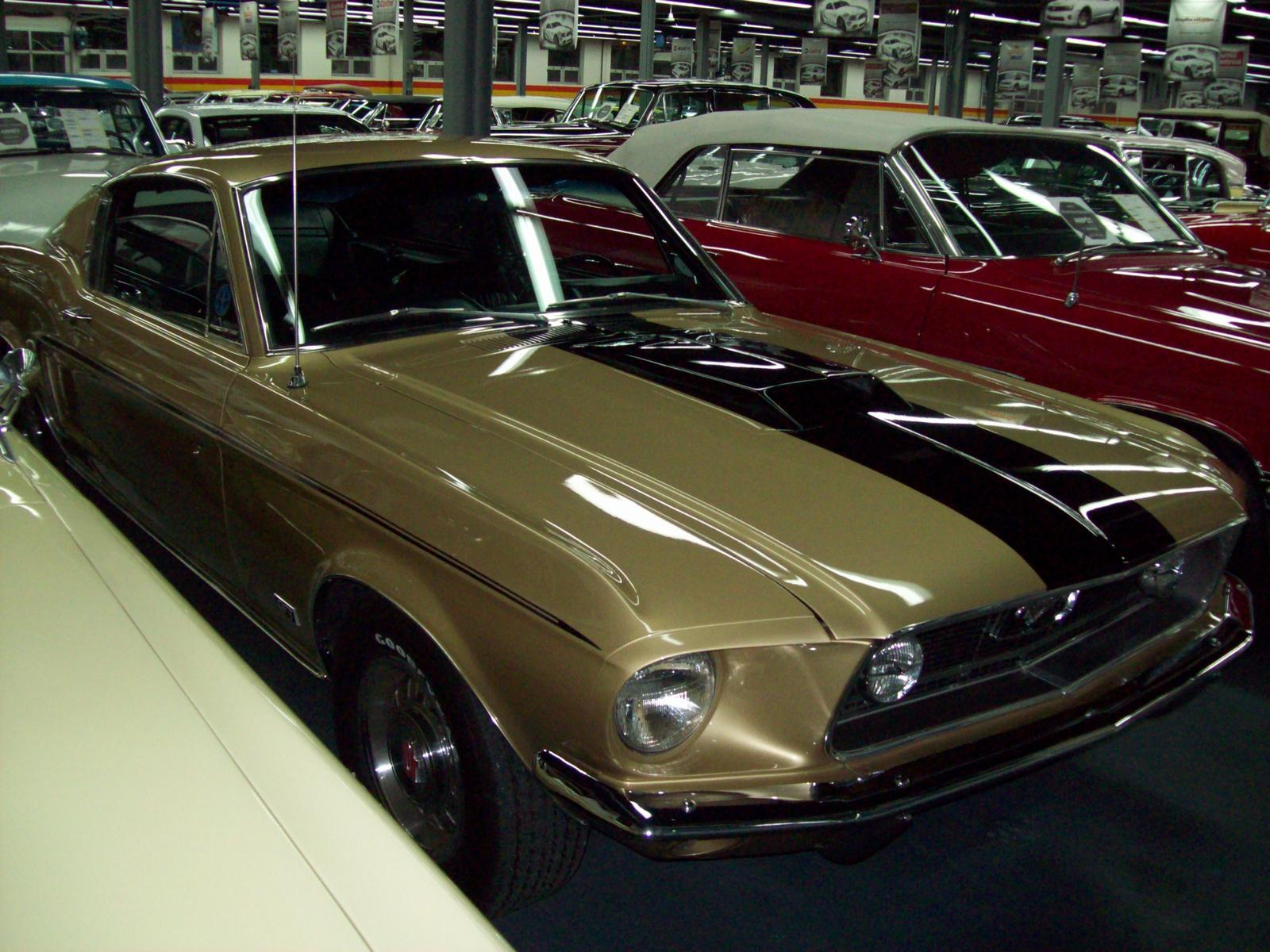 Used 1968 ford mustang gt fastback 428 r code for sale in saint léonard john scotti classic cars h1r 2y7 2070815