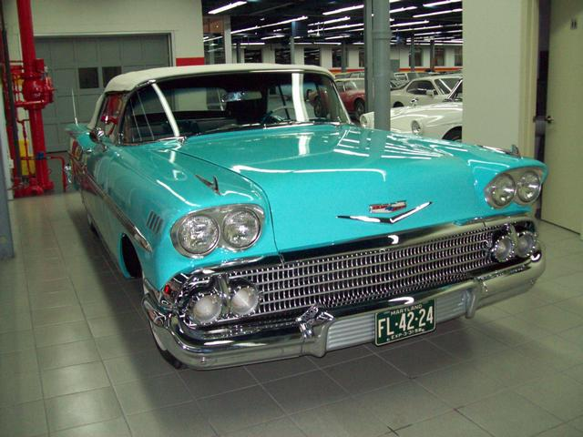 Charming Used 1958 Chevrolet Impala For Sale In Saint Léonard   John Scotti Classic  Cars H1R 2Y7   #2070582