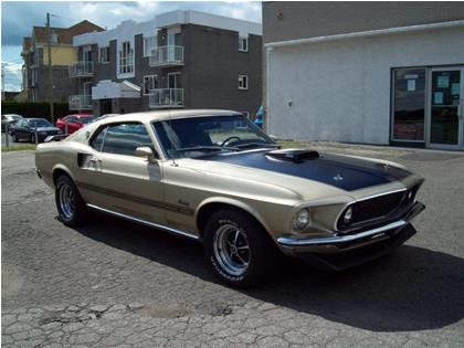 ford mustang mach 1 sportsroof 1969 usag vendre saint. Black Bedroom Furniture Sets. Home Design Ideas