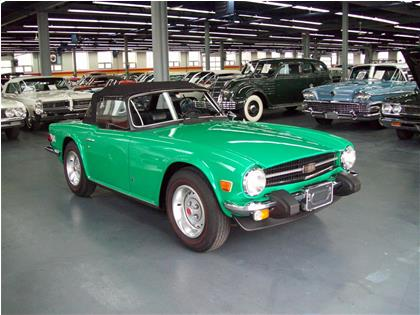 triumph tr6 1976 usag vendre saint l onard john scotti classic cars h1r 2y7 2070585. Black Bedroom Furniture Sets. Home Design Ideas