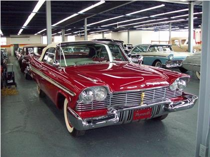 Plymouth Belvedere Convertible 1957
