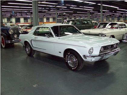 Ford Mustang GT 390CI 1968