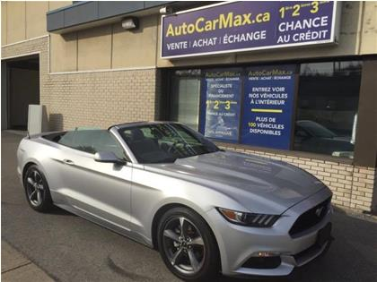 Ford Mustang V6 Convertible-Cam de Recul- CONDITION SHOWROOM! 2016